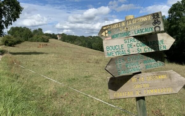 camping Dordogne randonnée